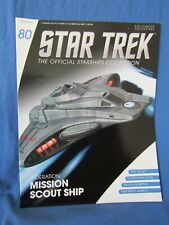 EAGLEMOSS STAR TREK STARSHIP COLLECTION - ISSUE 80 - FEDERATION SCOUT SHIP