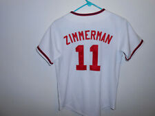 Washington Nationals Ryan Zimmerman Jersey Youth Medium M NWT NEW