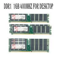 USA For Kingston 1GB 2GB 4GB DDR1-400MHz PC1-3200 CL9 2.5V DIMM Desktop Memory