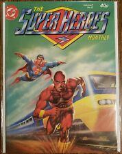 The Superheroes Monthly #8 Vol. 1 ~ Vf 1981 Dc Comics London ~ Neal Adams Art
