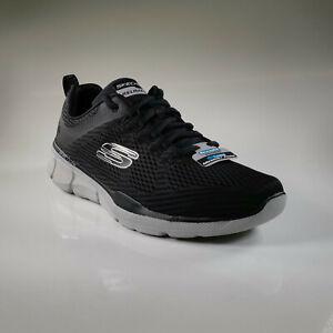 Skechers 52927 BKGY Equalizer 3.0 Summer Sneaker Herren Footwear Schwarz Schuh