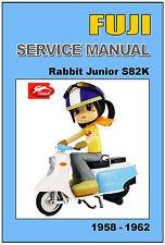 FUJI Workshop Manual Rabbit Junior S82K 1958 1959 1960 1961 1962 Service Repair