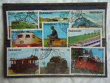 PARAGUAY - Trains, locomotive - 1979 - T26