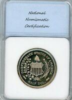 (1947) C. Smith SC 50C General Robert E Lee Confederate Half - Medal GEM PROOF