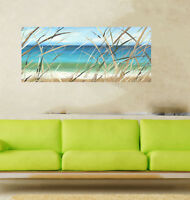 """24""""  Byron Bay Seascape Beach Art Painting Print Canvas framed Sea Australia"""