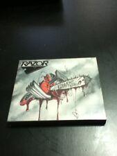 razor violent restitution reissue w/slipcase cd factory sealed thrash metal
