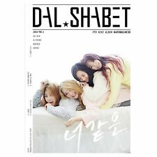 K-POP DAL SHABET [NATURALNESS] 9th Mini Album CD + Photobook + Photocard Sealed