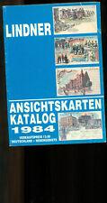 Lindner Ansichtskarten-Katalog 1984,  256 Seiten, gutes Nachschlagewerk,