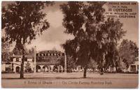 Postcard 55 Cottages at Fresno Motor Inn in Fresno, California~105880