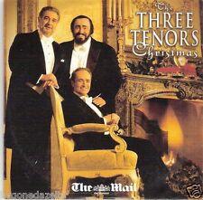 THE THREE TENORS CHRISTMAS - MAIL ON SUNDAY PROMO CD(FREE UK POST)