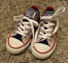 As New CONVERSE ALL STAR SHOES SIZE USA 11 UK 10.5 EUR 28 /17cm