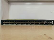 CISCO CATALYST 4948 - WS-C4948-S -  48 Ports - IPBASE - Dual PSU