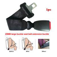 1x 35CM Car Seat Seatbelt Adjustable Safety Belt Extender Extension 25MM Buckle