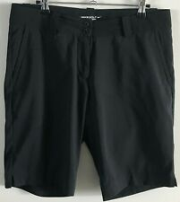 NIKE GOLF Womens Tour Performance Dri-Fit Shorts With 4 Pockets - Black - Size 8