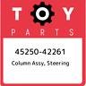 45250-42261 Toyota Column assy, steering 4525042261, New Genuine OEM Part