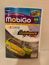 New Vtech MobiGo Nascar The Champions Touch Learning Game 4-6yrs Sealed