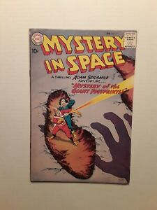 Mystery in Space #57, 1960 FN cond.