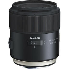New Tamron SP 45mm f/1.8 Di VC USD Lens - NIKON [F013]