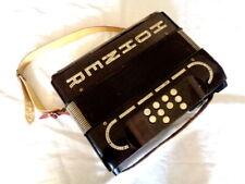 Made In Germany Diatonic Rare Hohner Morino B/Bb Club Modell Button Accordion