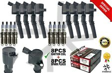 8X Ignition Coil DG508 & 8X Motorcraft Spark Plugs SP493 Ford Lincoln Mercury🔥
