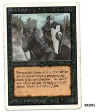 MRM ENGLISH Black Knight Front Good Back Poor BKU01 MTG magic UNLIMITED