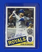 2020 Topps Update RYAN McBROOM 1985 Topps Auto Autograph ROYALS RC Rookie 85A-RM