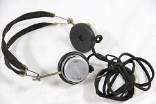Tower Scientific Navy Type Headphones Earphones Pilot WWII Boston Mass