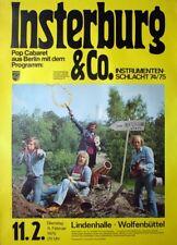 INSTERBURG & CO - 1975 - Konzertplakat - Karl Dall - Tourposter - Wolfenbüttel