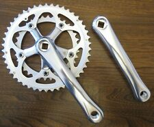 Sugino TD2 Double Chainset 165mm or 170mm Cranks 46 34 Chainrings