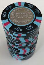 (20) $100 CONDADO PLAZA CASINO BUD JONES PAULSON POKER CHIPS