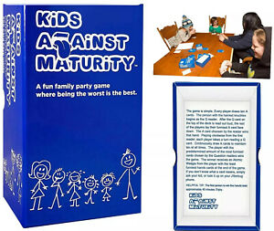 KIDS AGAINST MATURITY (Official Version) | Family Card Game for Kids & Humanity