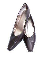 STACY ADAMS Women's Heels BROWN LEATHER UPPER HEELS Shoes Size 9 M