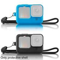 Silikonschutzhülle für GoPro Hero 9 Schwarz Action Kamera Zubehör Best