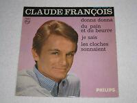 """CLAUDE FRANÇOIS DONNA DONNA ORIGINAL ÉDITION FRANÇAIS EP 7"""""""