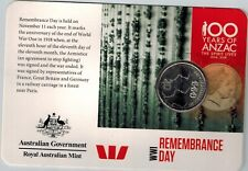 2015 WWI Anzacs Remembered 20c Collection - Remembrance Day