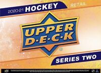 2020-21 Upper Deck Series 2 Retail 24/Pack Factory Sealed Box☑️MARCH PRESALE