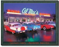 Al Mac's Drive In Metal TIN Sign Garage Bar Shop Man Cave Wall Decor New