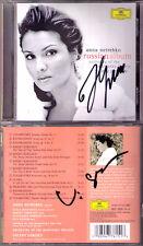 Anna NETREBKO, Valery GERGIEV Signed RUSSIAN ALBUM Eugene Onegin Letter Scene CD