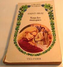 Book in French SOUS LES MASQUES Livre en Francais COLLECTION 4 COULEURS