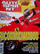 Autosprint 49 1998 Riparte la F.1. Rally Rac: mondiale perso da Sainz [Q104]