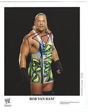 Rob Van Dam RVD Signed WWE Promo 8x10 Photo