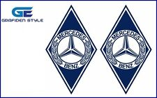 1 Paar MERCEDES - ACTROS RAUTEN Aufkleber - Sticker - Decal !!/!/!!