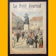 LE PETIT JOURNAL Suppl. illustré Siège de Belfort 19 avril 1896