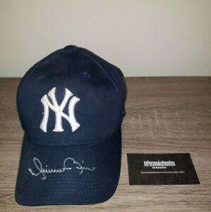 Mariano Duncan NY Yankees signed autographed hat