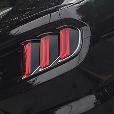 2015/2016/2017 Mustang [TBP] TAIL LIGHT BLACKOUT PANEL - Fits ALL Eco/V6/GT Cars