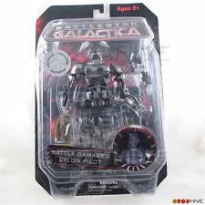 Battlestar Galactica Battle Damaged Cylon Pilot Diamond Select exclusive - worn