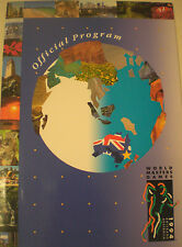 Aust  1994 WORLD MASTERS GAMES + TWO TICKETS PROGRAM, VGC BRISBANE Sport