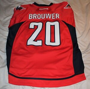 TROY BROUWER Washington Capitals Official Jersey by Reebok size XXL Stanley Cup