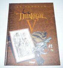 Edition Originale GLENAT  LE DECALOGUE  Tome 5    DEC9