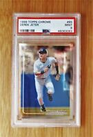 1999 Topps Chrome #85 DEREK JETER - PSA 9 MINT
